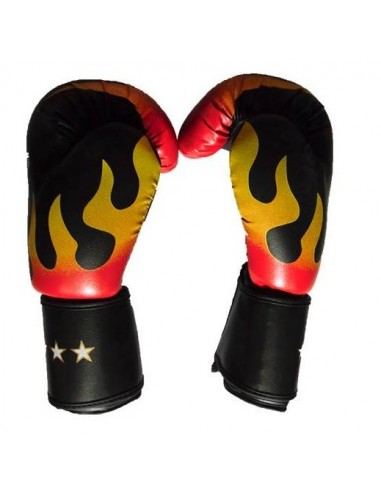 Guante Profesional de Box flame Super Star