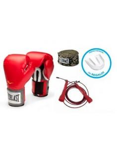 Pack Everlast Promoción guantes de box + Regalo