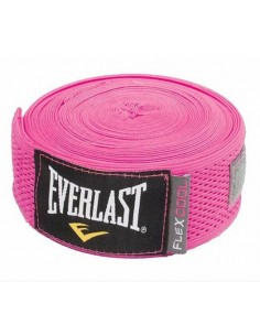 Vendas Everlast Flexcool Rosadas 100 % Ventilables
