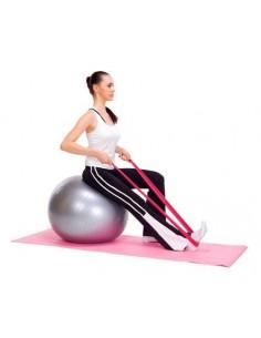 Elástico Pilates o para Kinesiología Fucsia