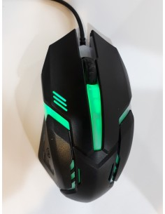 Mouse Óptico Senior Gaming USB 1600 DPI