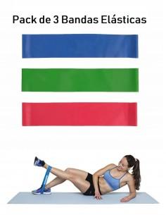 Pack de 3 bandas elásticas para piernas