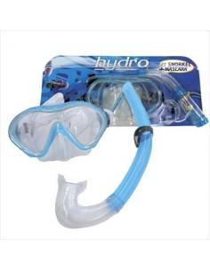 Set buceo Snorkel Hydro Mascara + Snorkel ADULTO