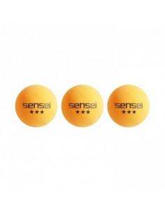 Pelotas de Ping Pong Sensei 3 Estrellas