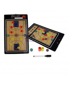 Pizarra Táctica Básquetbol Magnética
