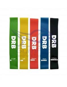 Pack de 5 Bandas Elásticas Fitness DRB