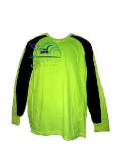 Camiseta de Fútbol Arquero DRB Fluo