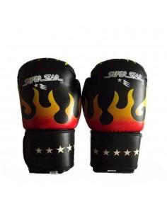 Guante Profesional de Box flame Super Star