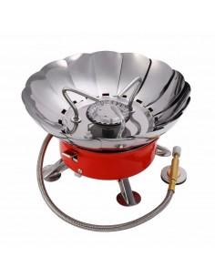 Cocina Portátil con Chispero A Prueba de Viento